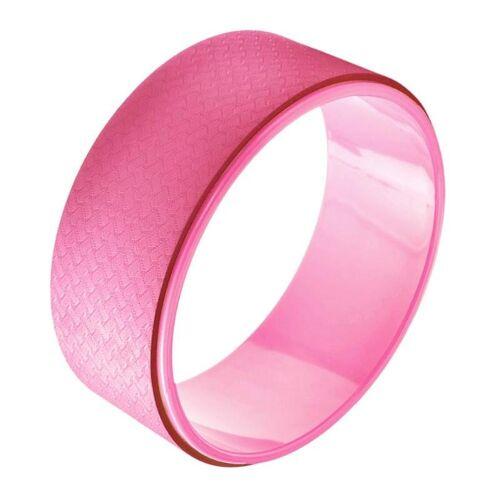 TPE + Alloy yoga wiel terug trainingshulpmiddel (roze)