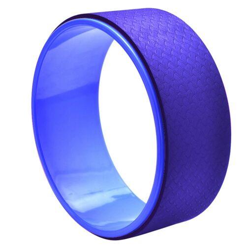 TPE + Alloy yoga wiel terug trainingshulpmiddel (blauw)