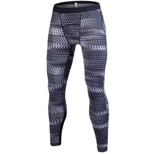SIGETU mannen sport opleiding stretch broek (kleur: licht grijs maat: XL)
