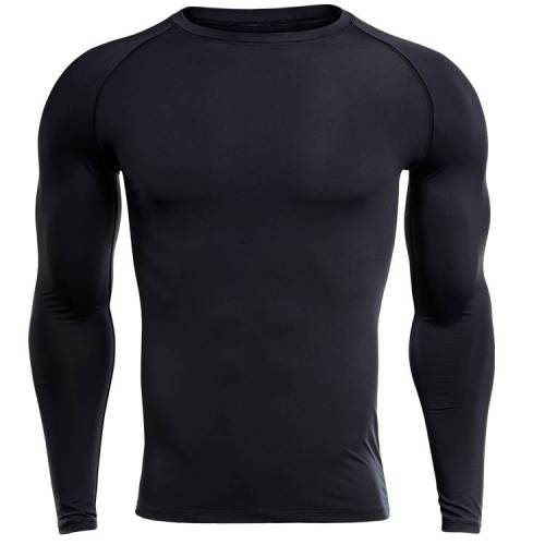SIGETU Men Sports Fitness Training Kleding (Kleur:Zwart Formaat:XL)