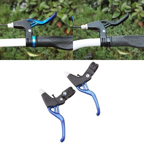 Mountainbike lichtgewicht lichtmetalen remgreep (blauw)