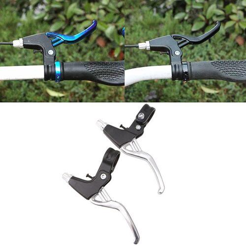 Mountainbike lichtgewicht lichtmetalen remgreep (zilver)