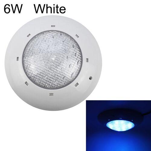 6W ABS kunststof zwembad muur lamp onderwater licht (wit)