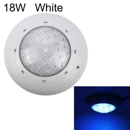 18W ABS kunststof zwembad muur lamp onderwater licht (wit)