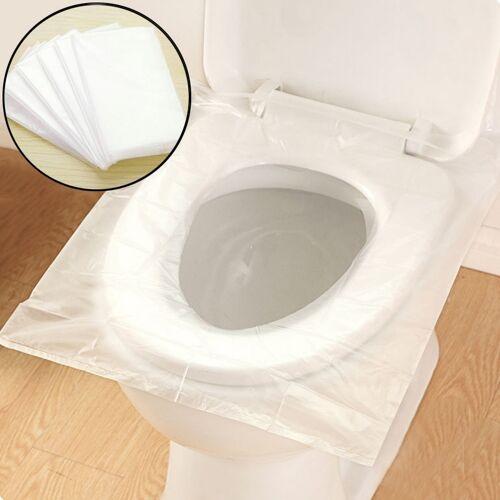 50 stuks reizen wegwerp Toilet Cover Mat toiletpapier zitkussen