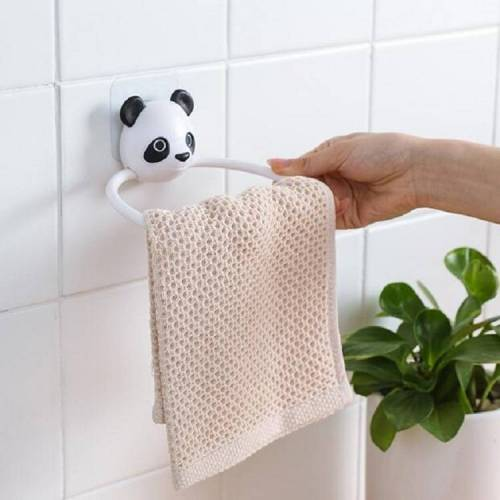 Cartoon Animal Shape Rack Badkamer Handdoek Bar (Panda)