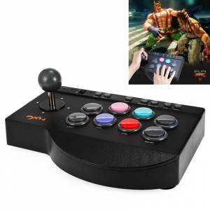 Nintendo PXN PXN-0082 Gladiator Street Machine Game Handle Rocker Controller for Nintendo Switch / PC / Android System / PS3 / PS4 / XboxOne