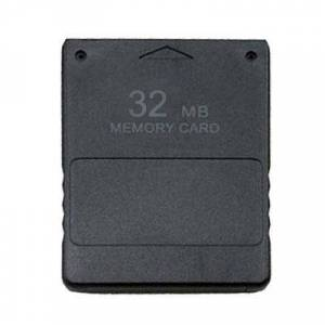 Geheugenkaart voor PS2 32MB (zwart)