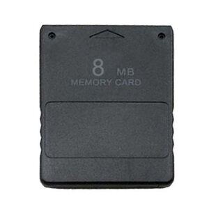 Geheugenkaart voor PS2 8MB (zwart)