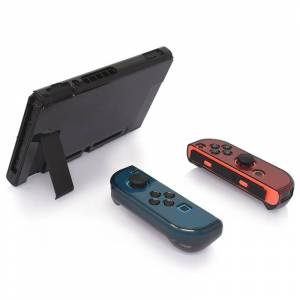 Nintendo Hard PC Protection cover voor Nintendo switch NS Case afneembare Crystal plastic shell console controller accessoires (zwart)