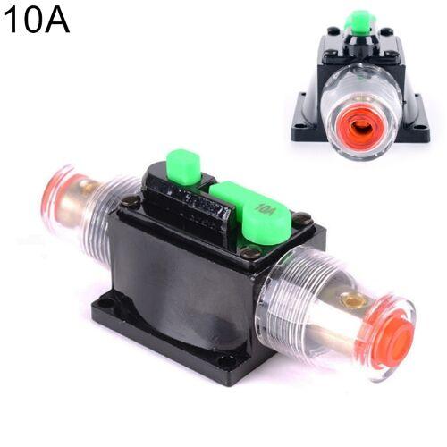 DC 12-24V auto vermogenschakelaar Stereo Audio zekering houder verzekering 10A zekering