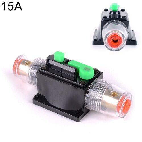 DC 12-24V auto vermogenschakelaar Stereo Audio zekering houder verzekering 15A zekering