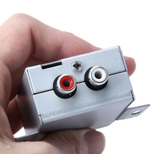 FH-203 12V voertuig auto Audio versterker Noise Filter RCA Plug Loop Isolator voor DVD Stereos