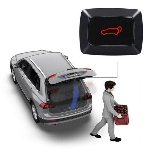 Universele auto elektrische LED licht achterklep Trunk Release Switch achterzijde romp deur Switch