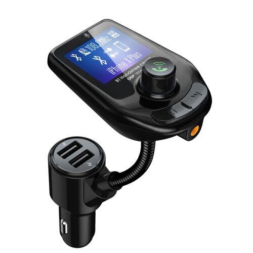 D4 voertuig Bluetooth 5 0 hands free carkit QC 3.0 FM-zender MP3-audio speler