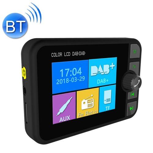 DAB-C6 auto DAB digitale radio-ontvanger Bluetooth MP3-speler FM-zender