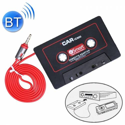 3.5 mm Jack Car cassettespeler tape adapter cassette MP3-speler Converter kabel lengte: 1 1 m