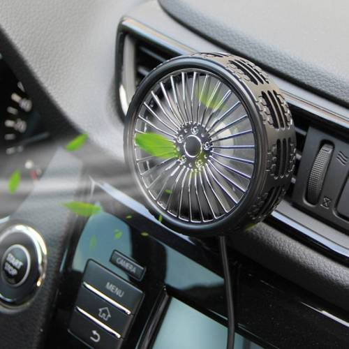F203A Portable Car Air Outlet Elektrische Koeling Ventilator