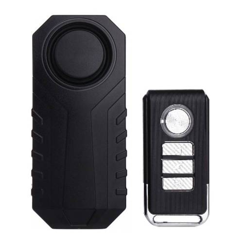 KS-SF22R IP55 waterdichte draadloze 113dB trillingen inbreker Sensor Alarm met afstandsbediening voor voertuig / fiets / elektrische fiets