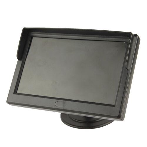 5 inch TFT LCD kleuren Monitor staan veiligheid TFT Monitor(Black)
