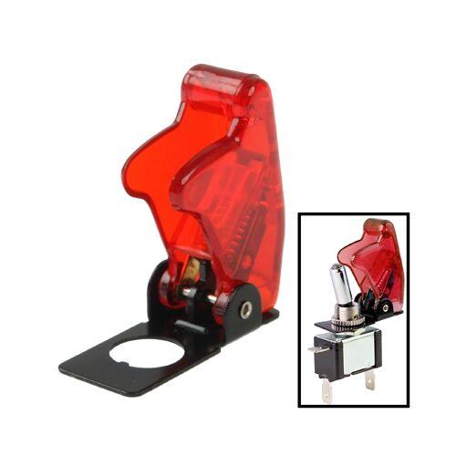 4 x DIY transparant rood veiligheid Flip Cover voor tuimelschakelaar (4-pack in één verpakking de prijs is voor 4-pack)