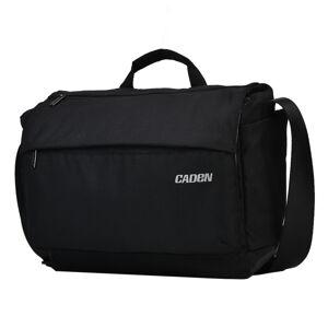 CADeN K12 draagbare camera tas geval schouder messengertas met statief houder voor Nikon Canon Sony DSLR/SLR camera's