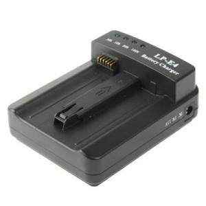 Canon LP-E4 Batterij Lader voor Canon EOS 1DS Mark III / 1D Mark III 4 / Mark IV / LC-E4 (zwart)