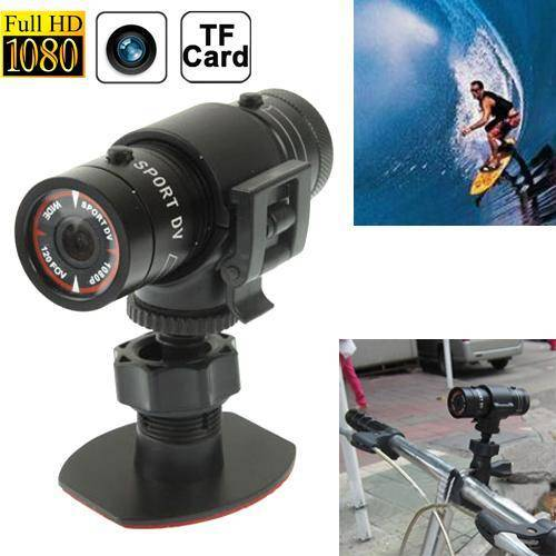 F9 Volledige HD 1080P actie Helm Camera / Sport Camera / fiets Camera, steun TF kaart, 120 graden groothoeklens