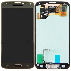 Samsung Originele LCD-scherm en Digitizer voor Galaxy S5 / G9006V / G900F / G900A / G900I / G900M / G900V(Gold)