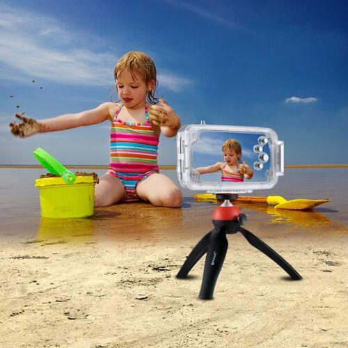 Apple HAWEEL voor iPhone X 40m / 130ft waterdichte duiken huisvesting Foto Video nemen onderwater Cover Case(Transparent)