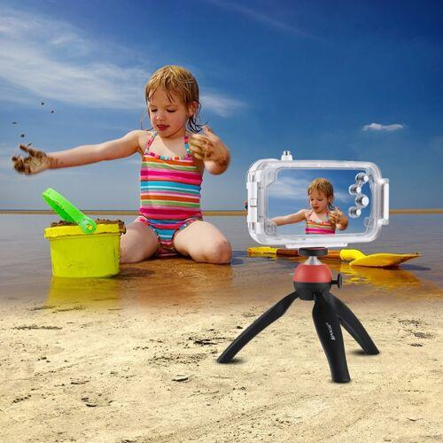 Apple HAWEEL voor iPhone X 40m / 130ft waterdichte duiken huisvesting Foto Video nemen onderwater Cover Case(White)