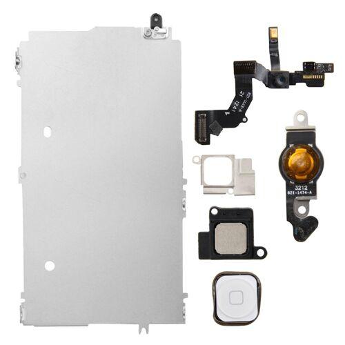 Apple 6 in 1 voor iPhone 5 LCD reparatie accessoires deel set (wit)