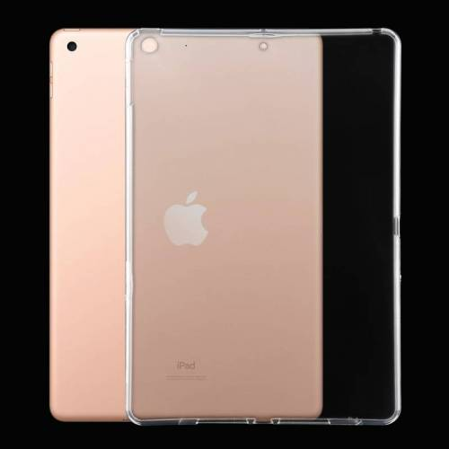 Voor iPad 10 2 3mm transparante TPU zachte beschermhoes (transparant)