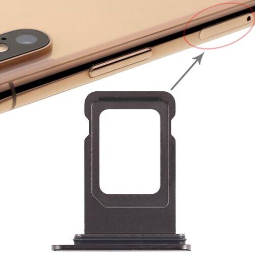 Apple Dubbele SIM-kaart lade voor iPhone XS Max (dubbele SIM-kaart) (zwart)