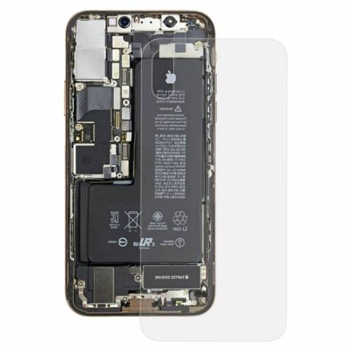 Apple Transparante backcover voor iPhone XS (transparant)