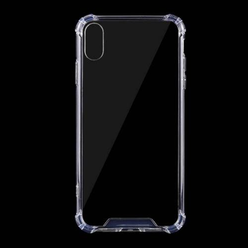 Apple 0 75 mm Dropproof transparante TPU Case voor iPhone XR (transparant)