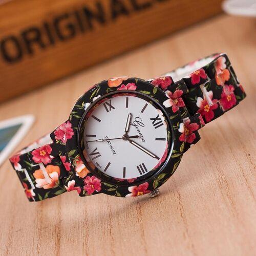 Rose tree horloges