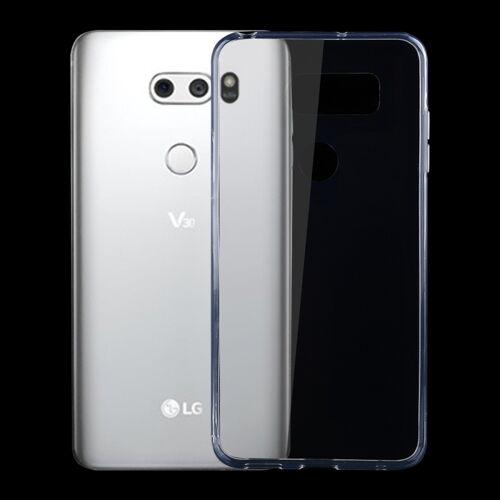 LG Voor LG V30 0 75 mm ultra-dunne transparante TPU beschermhoes (transparant)