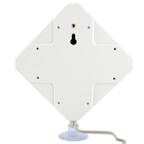 Hoge kwaliteit binnenshuis Antenne 35dBi TS9 4G, Kabel lengte: 2 meter, Afmetingen: 22 x 19 x 2.1 cm