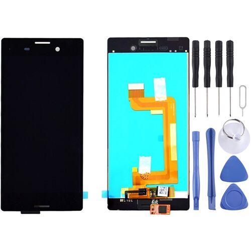Sony LCD-scherm + aanraakscherm voor Sony Xperia M4 Aqua (zwart)