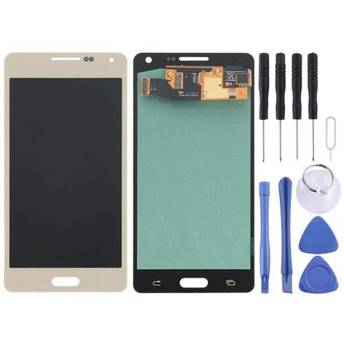Samsung voor de Galaxy A5 / A500 originele LCD Display + Touch Panel(Gold)