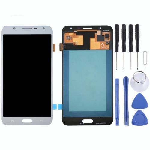 Samsung voor Galaxy J7 Neo / J701 Orignal LCD Display + Touch Panel(Silver)