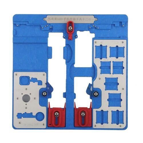 Apple MIJING A22 + 12 In 1 telefoon reparatie meubilair voor iPhone XR / 8P & 7P / 8G & 7G / SE / 6P & 6sP / 6 & 6s / 5S / 5C