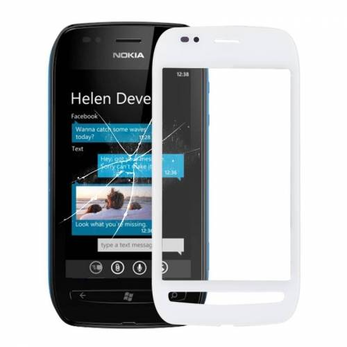 Nokia Aanraakpaneel voor Nokia 710 (wit)