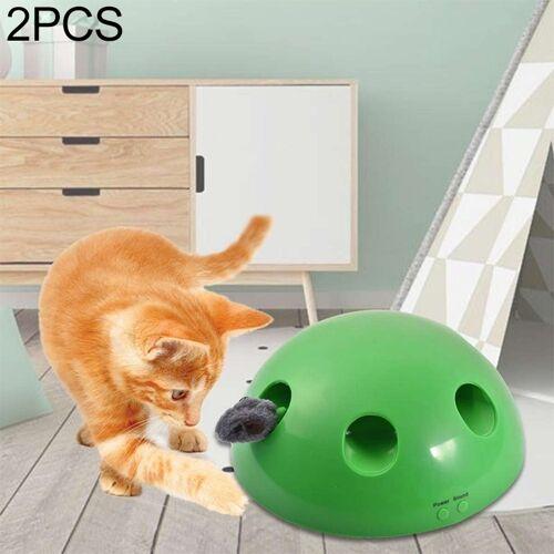 2 PC'S kat speelgoed vocale grappige kat speelgoed kat vangen muis elektrisch speelgoed