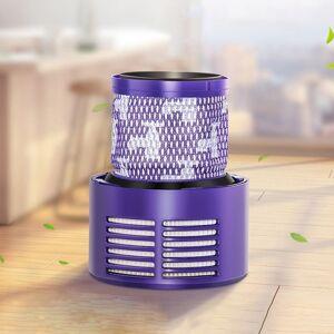 Stofzuiger filter kern achterste onderdelen accessoires voor Dyson V10 Amerikaanse versie (paars)