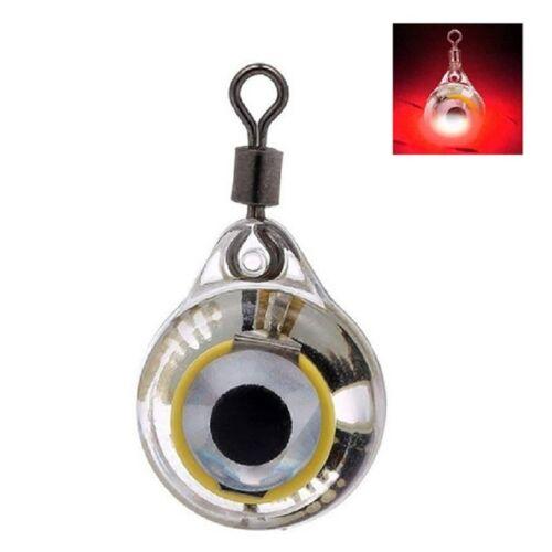 LED lokken vis lamp fisheye onderwater vis lamp (rood)