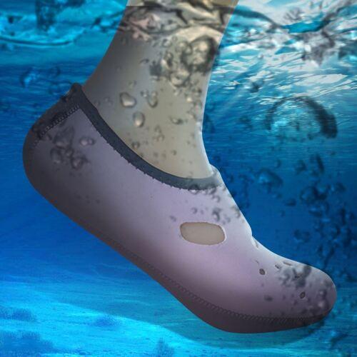 Comfortabel en antislip 3 MM duiken sokken ademend water zwemmen aan het strand zwemmen sokken maat: XS (33-34)(Pink)