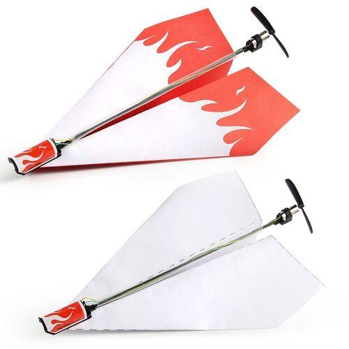 DIY speelgoed papier zweefvliegtuig met Power Module