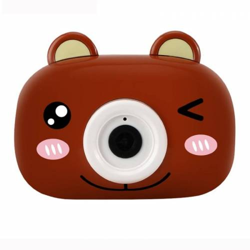 JJR/ C V09 Cartoon Animal Shape Bubble Maker Machine Toy (Bruin)
